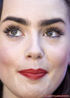 I need her eyebrows!!! lily collins