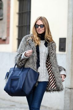 Fur and knits