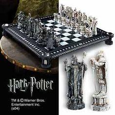 Harry Potter Final Challenge Chess Set -@- http://geekarmory.com/harry-potter-final-challenge-chess-set/