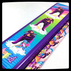 VTG LISA FRANK ❤︎ PENGUINS CASE BUG GIRL PENCILS LOT ❤︎ *flaws RARE KAWAII 90s  #LisaFrank