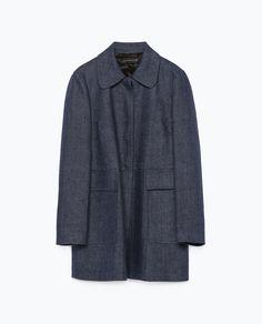 Image 7 of PETER PAN COLLAR COAT from Zara