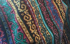 This is an up close of my Turkish blanket