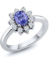 Sterling Silver Blue Tanzanite