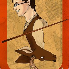 James Potter Playing Card