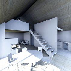 Sunhouse L1 - interior. Architect: Jarkko Könönen Country Modern Home, Modern Barn, Modern Farmhouse, Best Interior Design, Interior Decorating, Traditional House, Modern Architecture, Small Spaces, House Design