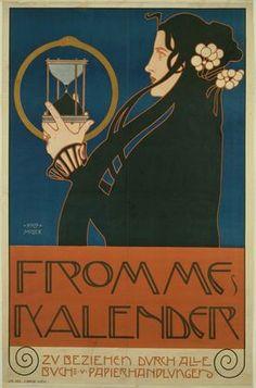 """Kolo Moser, """"Keine höhere Auflösung vorhanden, 1903"""""""