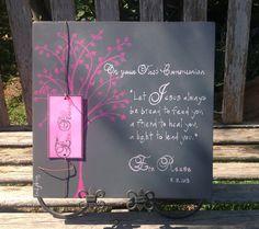 Custom+First+Communion+gift.+Create+your+own+by+Ladybugdesignbyeu,+$25.00