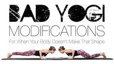 Ever feel like your body just doesn't make that shape? Erin Motz (aka the Bad Yogi) has three ideas to help you rock Chaturanga.