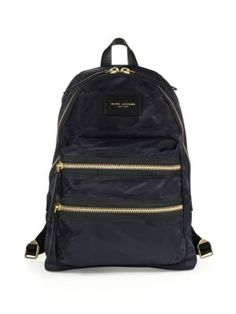MARC JACOBS Nylon Backpack. #marcjacobs #bags #nylon #backpacks