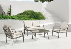 Zuo Modern Contemporary Grand Beach Collection Conversation Set | from hayneedle.com