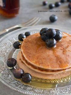 pancakes proteici senza glutine albumi