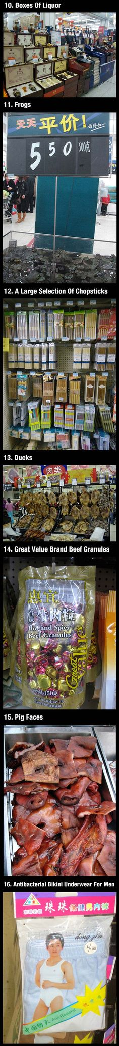 Walmart in China - You sell what?