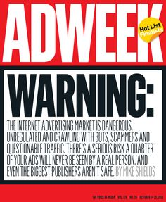 #Adweek cover - Oct. 14, 2013