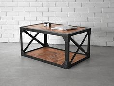 Holy funk Industrial Coffee Table. As seen on Channel 9's hit TV Show, The Block.