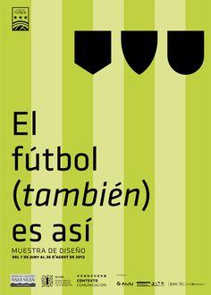 el futbol tambien es asi poster