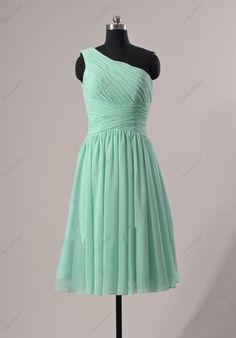 Mint Bridesmaid Dress  Short Bridesmaid Dress / by DressSister, $89.99