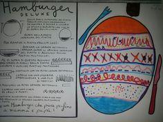 Tullet: la cucina degli scarabocchi... Hamburger Deluxe Herve, Dads, Education, School, Geometric Form, Alphabet, Fine Motor, Art School, Art Projects