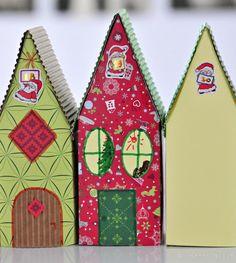 Make a Geometric Tree Advent Calendar Advent calendars, Etsy and Holidays