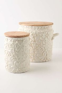 Anthropologie - Verdant Canisters