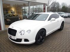 Bentley Continental Gt Coupe Petrol White | Fans Share