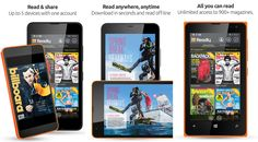 Readly magazine subscription application updates for Windows Phone 8.1 devices   An update is available Readly magazine subscription service application, which has recently been updated developer release of the International Readly Windows Phone 8.1 devices - 2015.319.1541.3419.