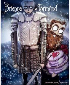 Brienne and tormund