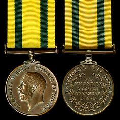 Territorial Force War Medal (WWI)
