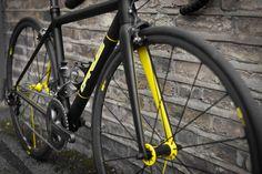 Parlee Z5 sli on Mavic 125s - Black and Yellow