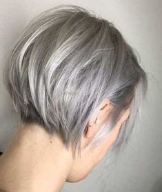 Sweet Short Bob Cuts for Ladies 2019 - # ladies # for # short # short hair. Sweet Short Bob Cuts for Ladies 2019 - # Ladies # for Hair . Bob Cuts For Women, Bob Haircuts For Women, Short Pixie Haircuts, Short Hairstyles For Women, Grey Hair Styles For Women, Simple Hairstyles, Short Hairstyles For Thin Hair, Short Haircuts Over 50, Grey Haircuts
