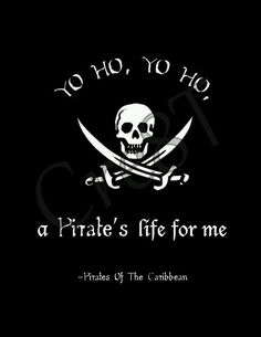 Disney Pirate's Of The Caribbean Movie Quote Print Disney Pixar, Disney Art, Disney Love, Disney Magic, Dreamworks, Pirate Quotes, Schrift Design, Johny Depp, Pirate Theme