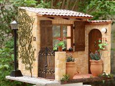 Minhas Minis - My Minis: Casa Toscana - Tuscany House