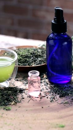 Step up your beauty routine with an easy, homemade green tea toner.