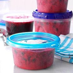 Wild Berry Freezer Jam Recipe from Taste of Home -- shared by Barbara Hohmann, Petawawa, Ontario