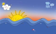 Nicoletta Costa - illustrazioni mare