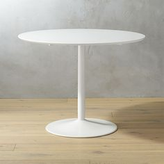 odyssey white dining table | CB2$199 also need in kitchenette area