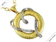Women's Diamond Necklace in 14K Yellow Gold (0.24 ctw)
