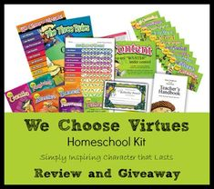 Sponsored Post: Author has received a We Choose Virtues Homeschool Kit in return for an honest review at The Curriculum Choice as part of a sponsorship package. Affiliate links appear in this post. I am very excited to share with you a review of an excellent product from my Titus 2:1 Conference