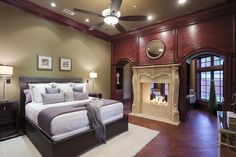 I love this fireplace.
