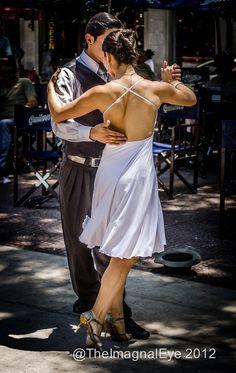 Tango dancers - Buenos Aires