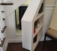 7 Under Stairs Storage Ideas -Bedrooms, Living Rooms