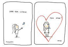 Ah O Amor, Intj, Comic Strips, Self Love, Meant To Be, Feelings, Comics, Words, Happy