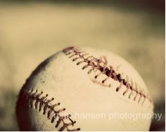 Baseball Photograph.  Vintage baseball.  Sports by CutePhotoCards, $15.00