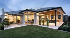 Great outdoors: 5 ways to design a perfect alfresco - WA Country Builders Dream House Plans, Modern House Plans, Modern House Design, Country Builders, Home Builders, Alfresco Designs, Modern Outdoor Kitchen, Modern Patio, Modern Bungalow House