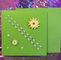 A personal favorite from my Etsy shop https://www.etsy.com/listing/289821835/happy-anniversary-yellow-lime-green