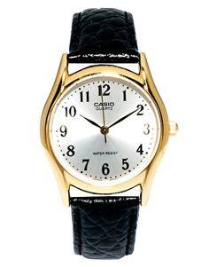 Casio Watch MTP-1154Q-7B2EF Leather Strap
