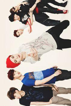|EXO| Kris, Chanyeol, Luhan, Baekhyun and Chen