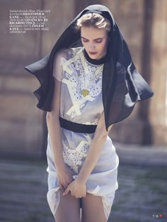 Vogue Turkey March 2013  Model: Mirte Maas
