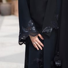 """358 Likes, 4 Comments - SUBHAN ABAYAS (@subhanabayas) on Instagram: """"#Repost @mauzan with @instatoolsapp ・・・ Detail trilogy of dreamy appliqués #subhanabayas…"""""""