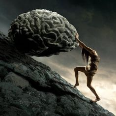 A new work by Igor Morski - Sisyphus   (Colour version.)
