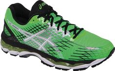 Asic Nimbus shoes recommended by one of our group members for use with AFOs.